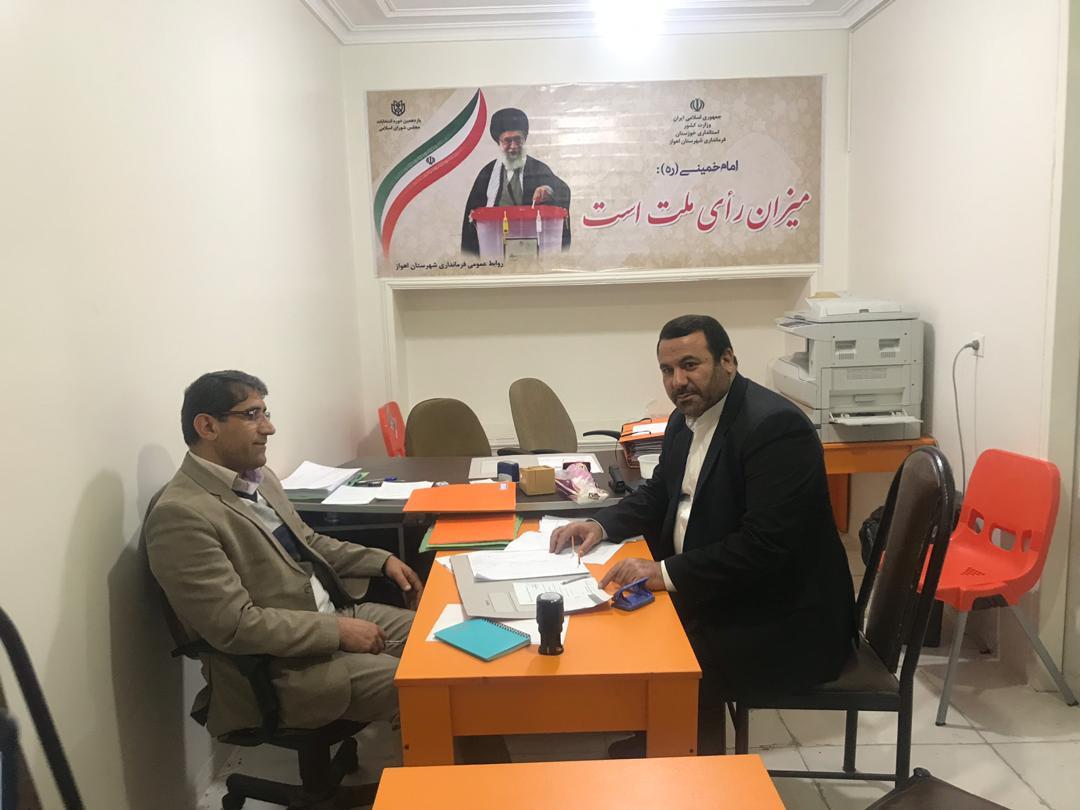 شبیب جویجری پا به عرصه انتخابات یازدهمین مجلس دوره نهاد