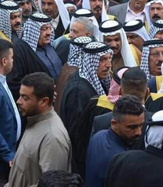 مرحوم خمیس محمدباقر سهیل التمیمی برگزاری مجلس ترحیم شیخ خمیس محمدباقر سهیل التمیمی در اهواز