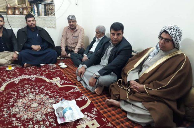 برگزارى نشست و تبادل پيرامون مشكلات كلانشهر اهواز در منطقه عامرى(اهواز قديم)