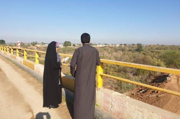 گزارش تصویری/ حضور نادیا بنی اسد در مناطق محروم شهرستان دشت آزادگان