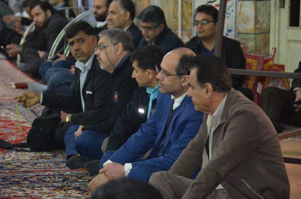 تجدید بیعت مسئولین و کارکنان خوزستان با آرمانهای انقلاب اسلامی