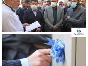 افتتاح پروژه اصلاح و توسعه شبکه آب خیابان یک حصیرآباد با حضور دکتر غلامرضا شریعتی استاندار خوزستان