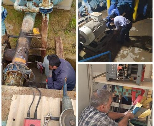 بازسازی تاسیسات آبرسانی بندرامام خمینی(ره) به منظور پایداری شبکه آب شرب