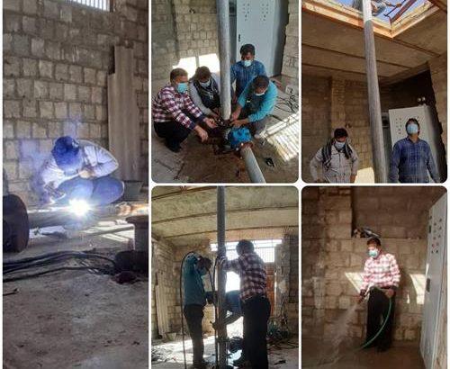 رفع افت فشار آب بیش از ۵۸۰ خانوار ساکن در روستای شهرویی بهبهان
