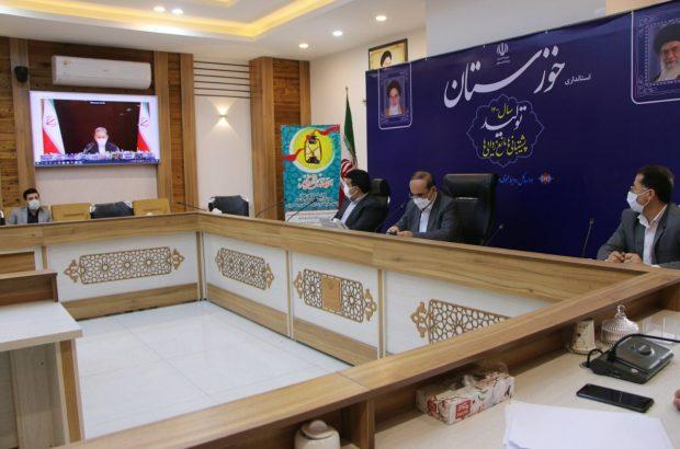 استاندار خوزستان: وزیران نیرو و جهاد کشاورزی قول شروع فاز دوم طرح ۵۵۰ هزار هکتاری مقام معظم رهبری را دادند