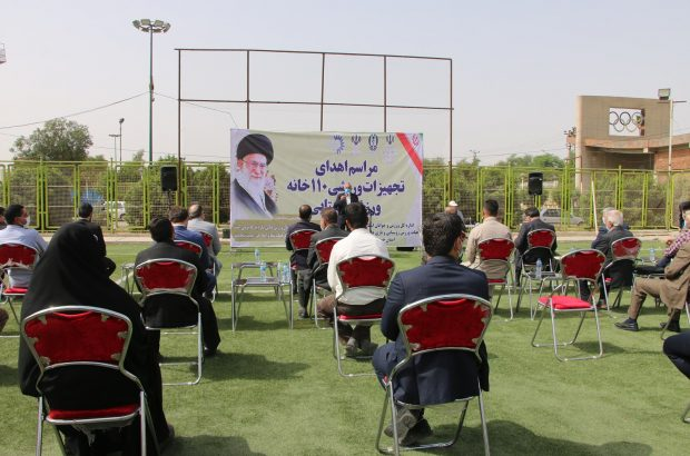 تجهیزات ورزشی به ۱۱۰ خانه ورزش روستایی استان اهدا شد