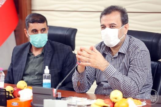 برگزاری جلسه بررسی یادمان سرداران شهید با حضور شهردار اهواز