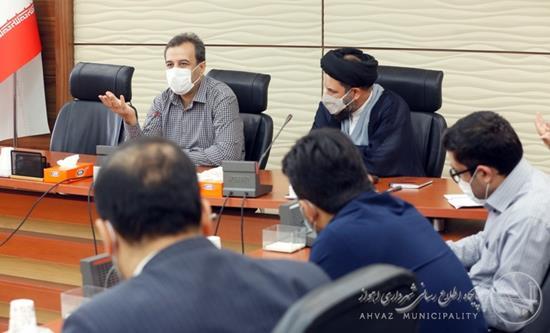شهردار اهواز از روسای سازمانها خواستار شد: تدوین برنامه اجرایی ۱۴۰۰ سازمان های تابعه شهرداری