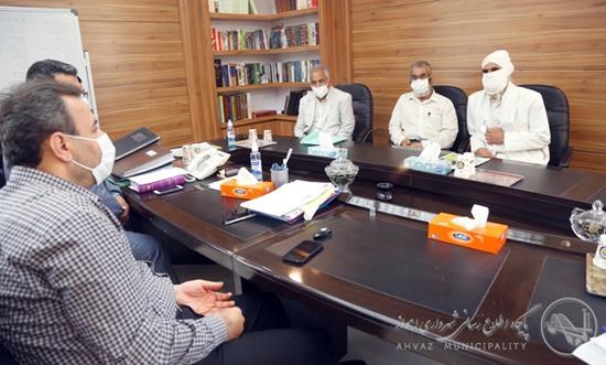 شهردار اهواز در دیدار با صابئین مندایی: اولویت ما خدمات رسانی به کلیه شهروندان است
