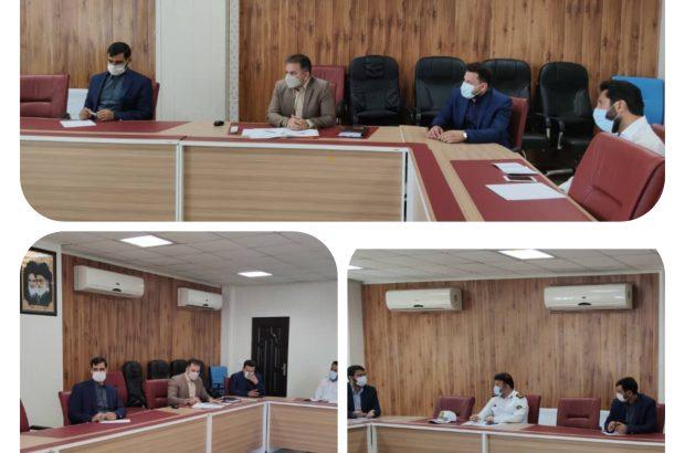 برگزاری جلسه هم اندیشی و تبادل نظر پیرامون مسائل ترافیکی در شهرداری منطقه ۲ اهواز