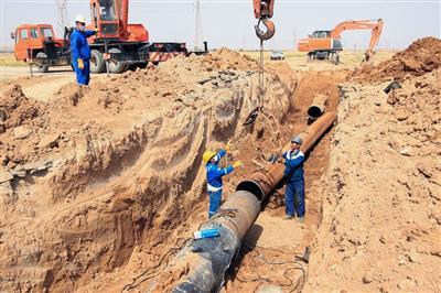 اتمام زودهنگام تعمیر خط لوله ۲۶ اینچ صادراتی