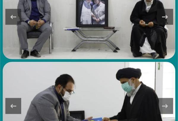 دیدار نماینده ولی فقیه خوزستان با مدیرکل تعاون، کار و رفاه اجتماعی استان و شرکای اجتماعی