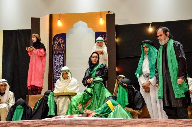 اجرای تعزیه فاروق در ایام شهادت حضرت امام علی(ع)