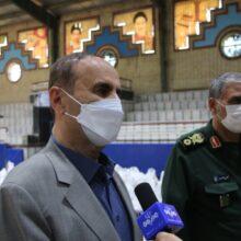 استاندار خوزستان: سیر کاهشی کرونا با کمک بسیج و دیگر عوامل در استان در حال طی شدن است