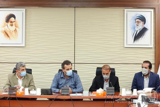جلسه ستاد استقبال از عید سعیدفطر با حضور شهردار اهواز برگزار شد