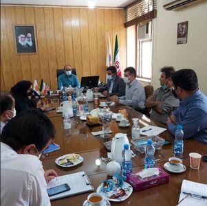 نشست مدیرعامل سد و نیروگاه شهید عباسپور و رئیس مجتمع آموزشی و پژوهشی سازمان آب و برق خوزستان