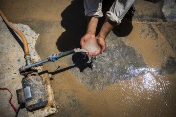 خشکسالی در روستای منصوره شادگان در استان خوزستان