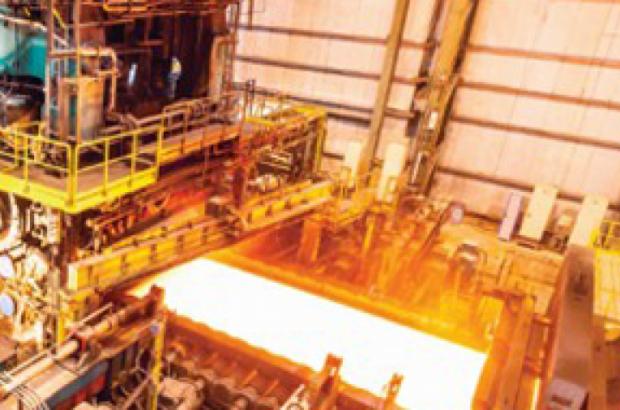 سلامت و آماده بکاری؛ در خط تولید شرکت فولاد اکسین خوزستان