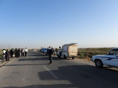 منصوبات برداشت غیر مجاز در بخش شعیبیه شهرستان شوشتر پلمپ شد
