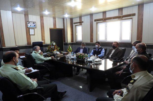 جلسه هماهنگی و مقابله با بحران و تنش های آبی در خشکسالی برگزار شد
