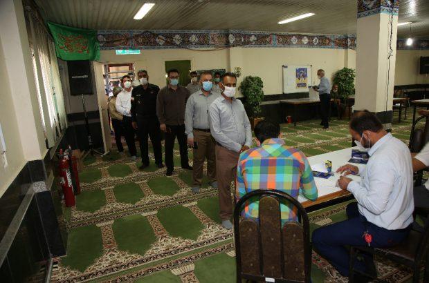 برگزاری رای گیری انتخابات ریاست جمهوری و شورای اسلامی شهر و روستا در کشت و صنعت سلمان فارسی