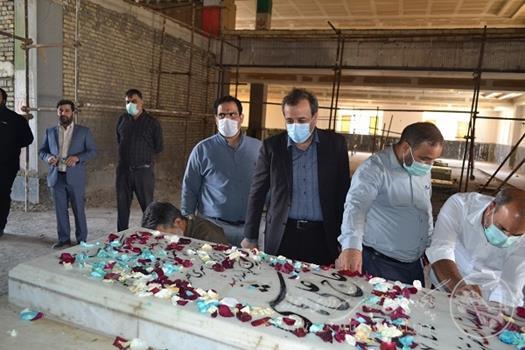 تکمیل ساخت مرکز فرهنگی و مذهبی سردار شهید حاج علی هاشمی و سرداران شهید کلید خورد