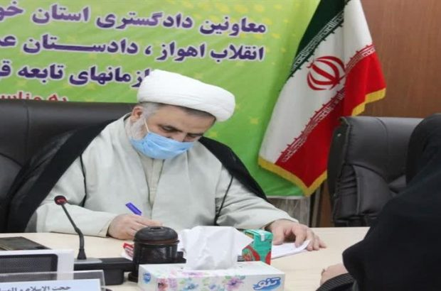 در هفته قوه قضائیه صورت گرفت؛ دیدار چهره به چهره اعضای شورای قضایی خوزستان با مردم