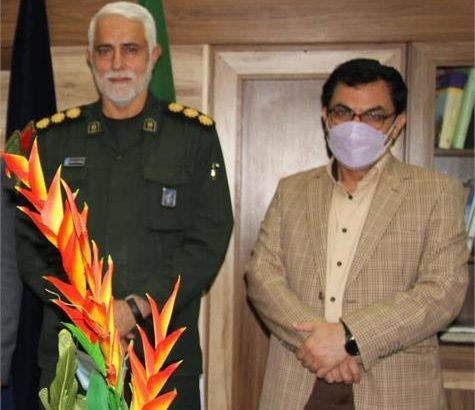دیدار مدیر روابط شرکت فولاد خوزستان با مدیرکل بنیاد حفظ آثار و نشر ارزش های دفاع مقدس
