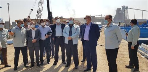 معاون وزیر صمت:انتظار می رود روند اجرای پروژه فولادسازی شادگان با سرعت بیشتری انجام شود
