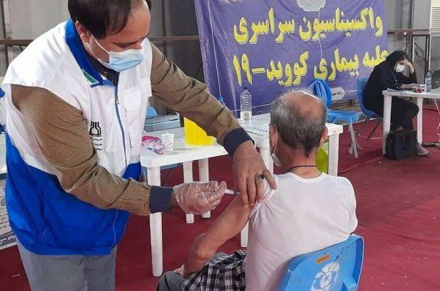 فهرست مراکز بهداشت اهواز برای واکسیناسیون کرونا