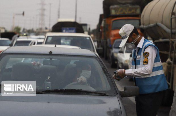 ورود خودروهای غیربومی به شهرهای قرمز و نارنجی خوزستان ممنوع!