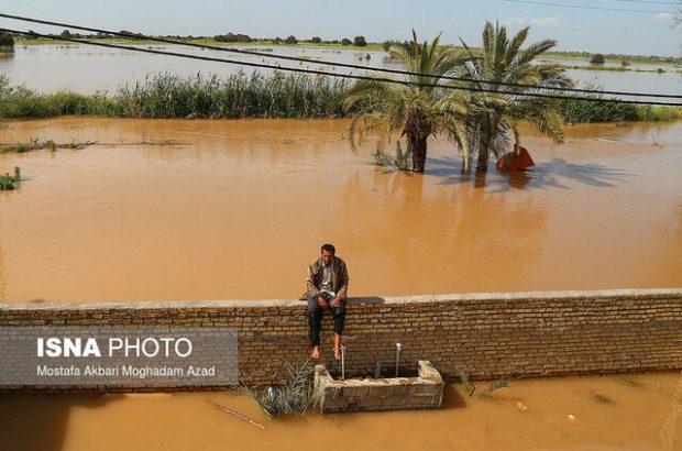 جا ماندن دو روستای خوزستان از بازسازی سیل ۹۸