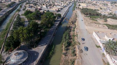 پایان فاز اول لایروبی نهر خروسی شهرستان شادگان