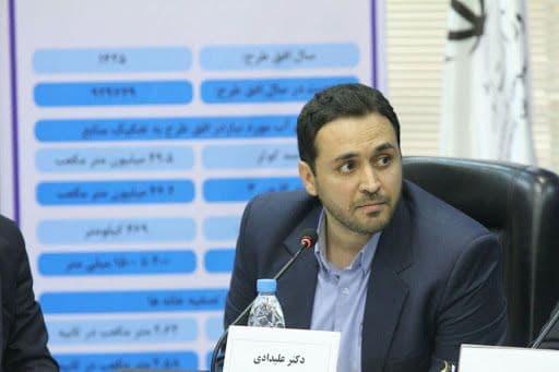 معاون آبرسانی سازمان آب و برق خوزستان: خط آبرسانی حمیدیه وارد مدار شد