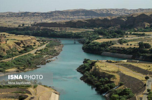 آورد آب امسال خوزستان ۴۴ درصد کمتر از نرمال است