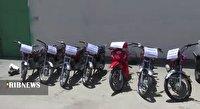 دستگیری سارقان حرفه ای موتورسیکلت در اهواز