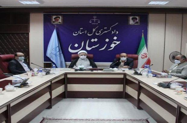 رئیس کل دادگستری استان خوزستان تاکید کرد: نقش بسیج حقوقدانان در کاهش ورودی پرونده های قضایی