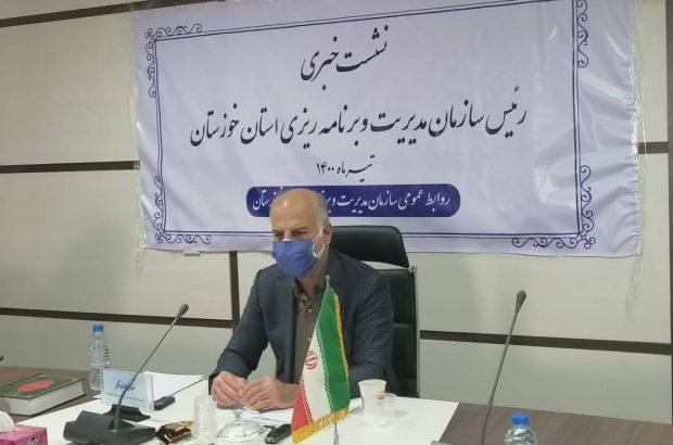 اعتبارات عمرانی استانی خوزستان در بودجه ۱۴۰۰ در کشور اول است/ پنج طرح به عنوان ردیف خاص خوزستان در بودجه در نظر گرفته شده/ میانگین تخصیص بودجه استان در سال گذشته ۳۶ درصد بوده، ۱۰ درصد پایین تر از میانگین کشوری/ خوزستان رتبه سوم بیکاری در کشور
