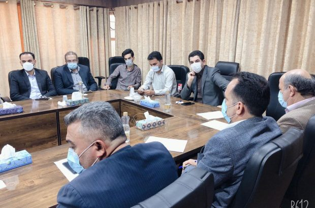 جلسه مدیرعامل سازمان همیاری شهرداری های استان با پرسنل سازمان