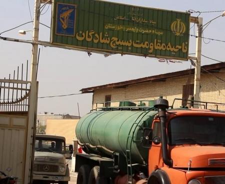 فرمانده ناحیه مقاومت شادگان : آبرسانی به روستاهای شادگان با ۶ دستگاه تانکر ادامه دارد