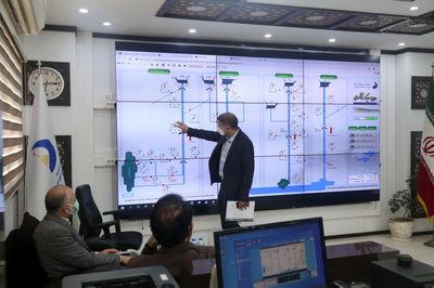 بازدید معاون سازمان بازرسی کل کشور از رصدخانه آب و انرژی سازمان آب و برق خوزستان