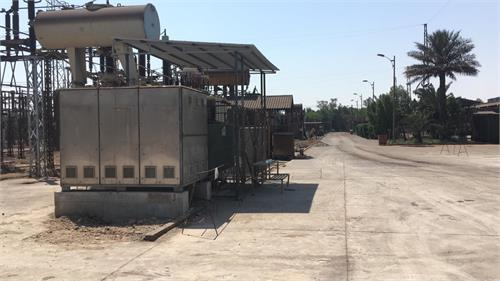 ترانس شماره ۳ ایستگاه اصلی برق شرکت فولاد خوزستان تعویض شد