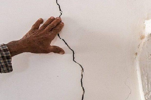 خسارت زلزله به منازل روستایی در رامشیر