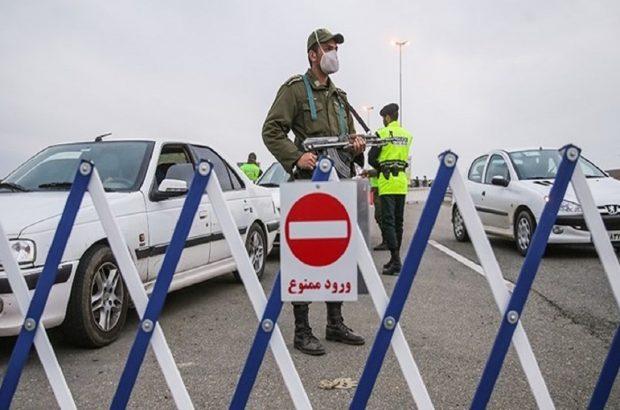 اعمال محدودیت کرونایی تردد در محورهای خوزستان