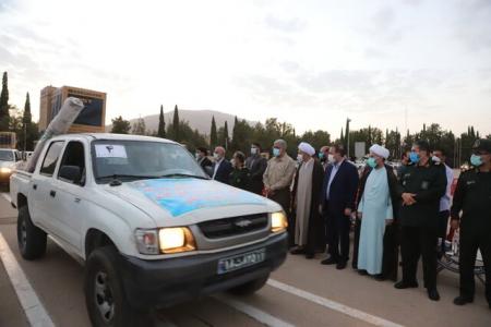 جانشین فرمانده سپاه حضرت ولی عصر(عج) استان خوزستان : ۲۰ سری جهیزیه به نوعروسان مددجو در اهواز اهدا شد