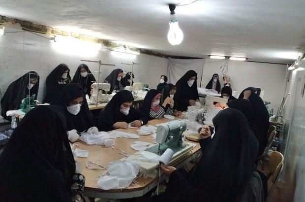 مشارکت بانوان بسیجی در رفع مشکلات خوزستان و مقابله با کرونا