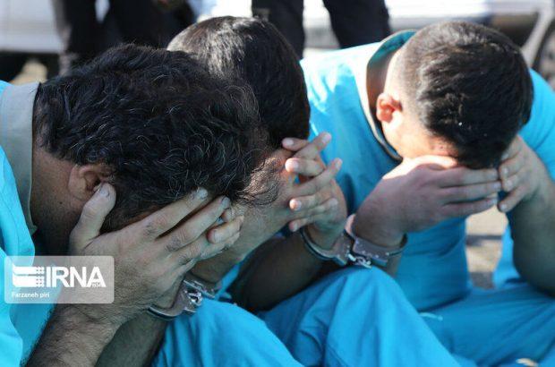 دستگیری ۱۳ عامل سرقت و تیراندازی در شوش