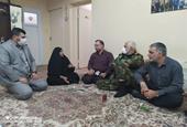 دیدار سرپرست شهرداری اهواز با خانواده شهید جاویدالاثر مهرداد گلزردان
