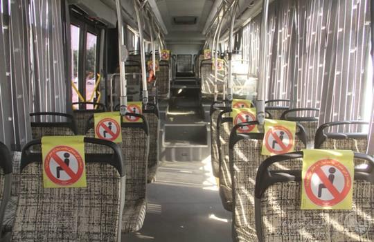 تعطیلی سرویس دهی ناوگان اتوبوسرانی اهواز به علت شیوع ویروس کرونا از شنبه۱۶ مرداد