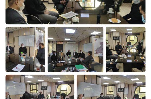 بازدید عضو شورایاسلامی شهر اهواز از شهرداری منطقه ۴